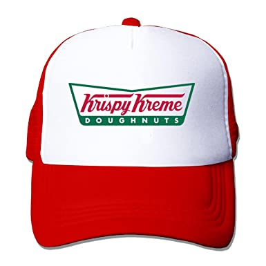 95669d6d475d7 Amazon.com  Free Krispy Doughnuts Talk Like a Pirate baseball cap Red   Clothing
