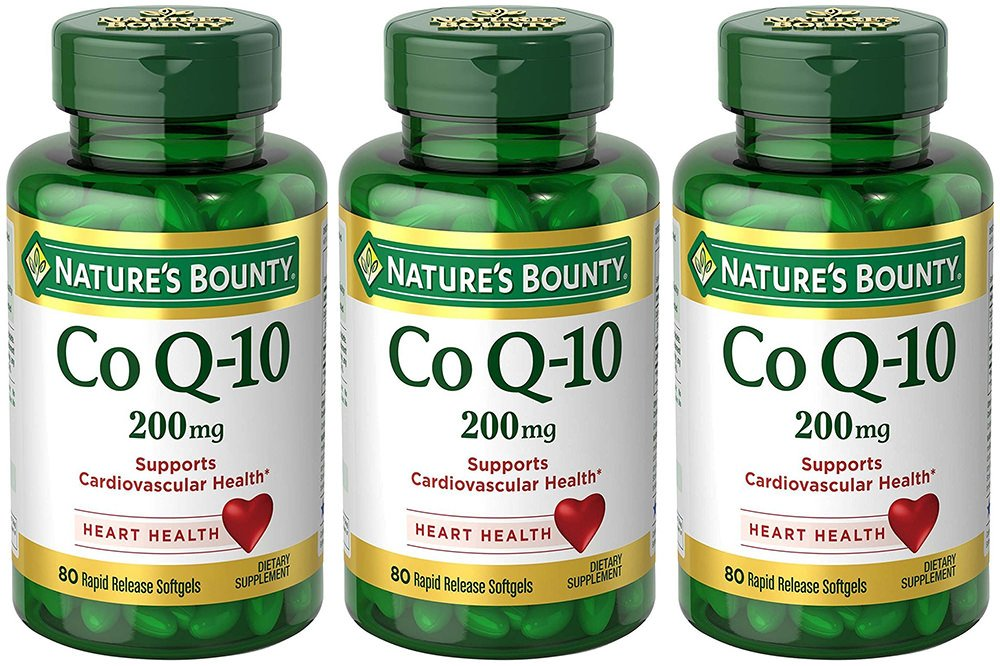 Co Q-10 200 mg, 80 Rapid Release Softgels (3 Bottles)