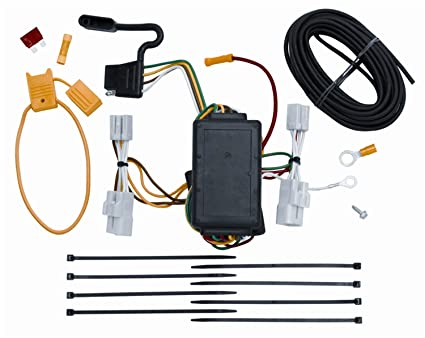 amazon com vehicle to trailer wiring harness connector for 06 12 rh amazon com 2017 toyota rav4 trailer wiring harness installation 2007 toyota rav4 trailer wiring harness