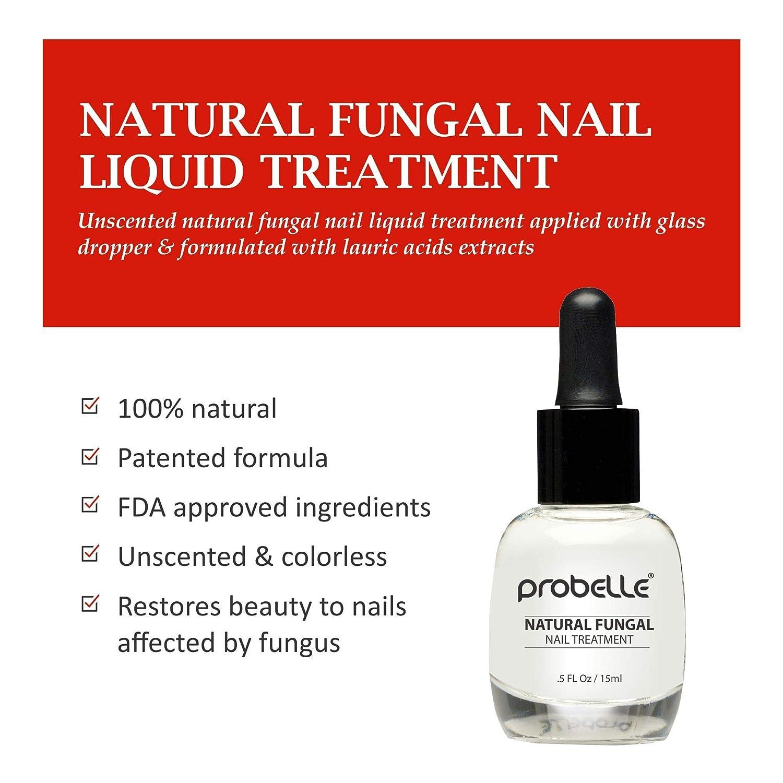 Probelle Antifungal Natural Treatment System Solution Kit (3 Piece ...