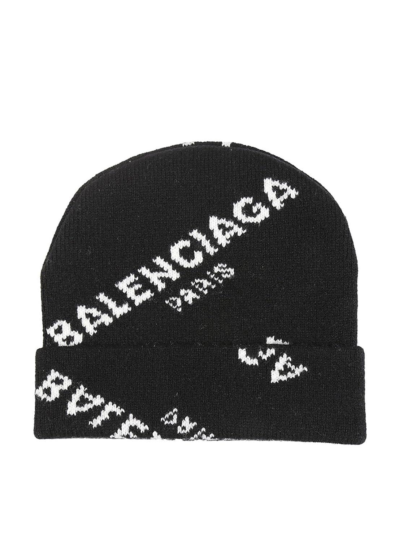 Balenciaga Femme 479920T13801070 Noir Laine Chapeau  Amazon.fr  Vêtements  et accessoires 0eeacf377ed
