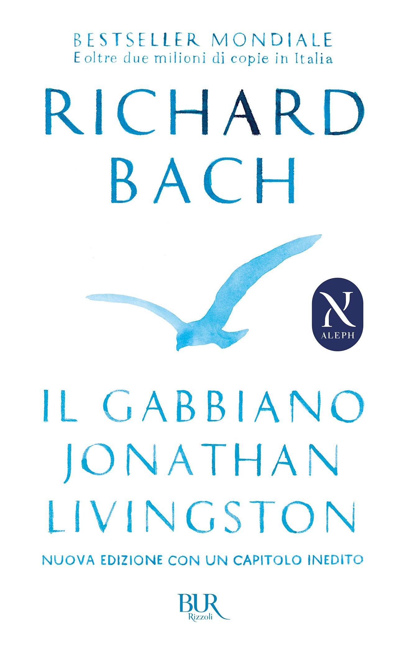 Copertina Libro Il gabbiano Jonathan Livingston