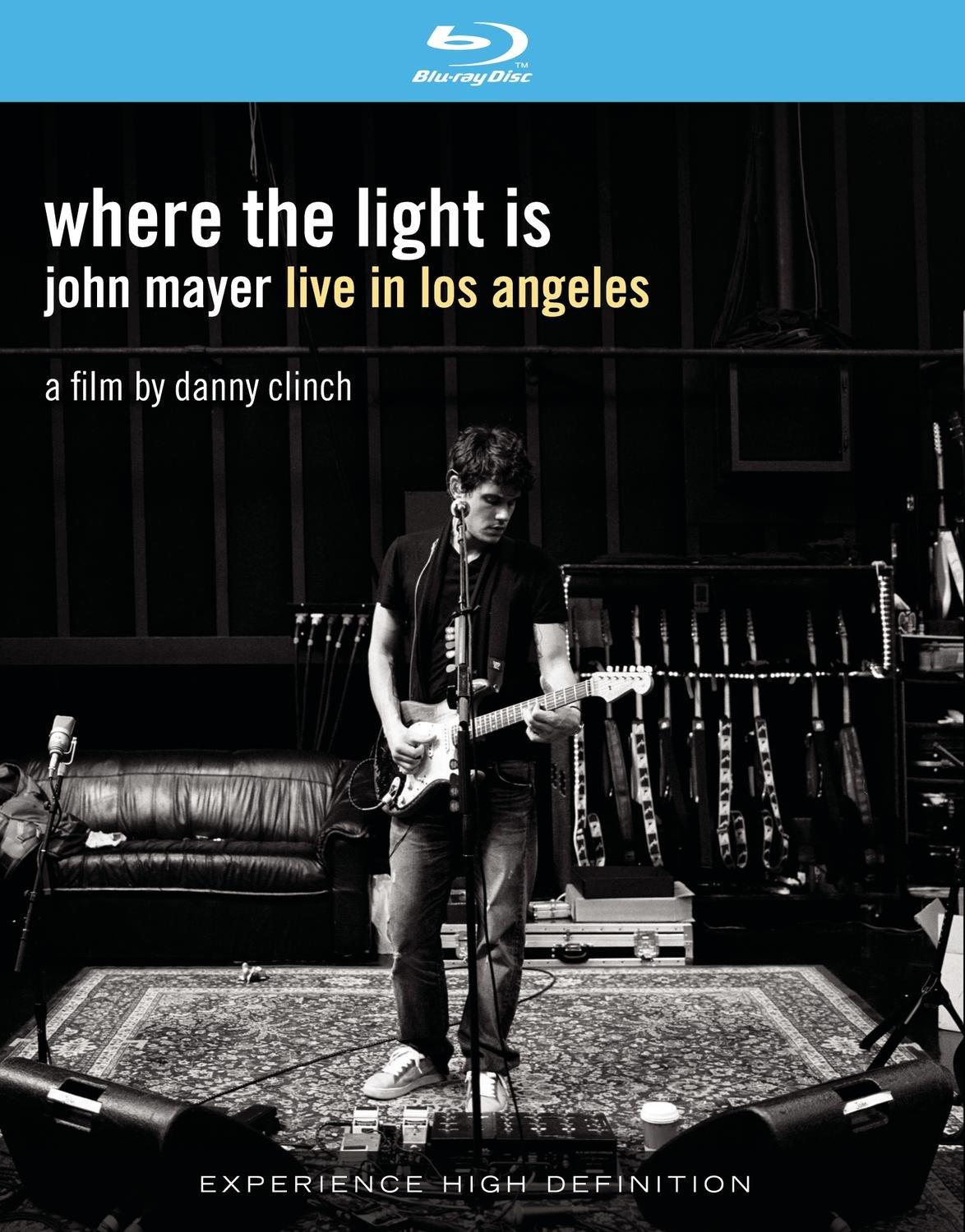 Where the Light Is: John Mayer Live In Los Angeles [Blu-ray] Pino Palladino Steve Jordan Danny Clinch David Ryan Harris
