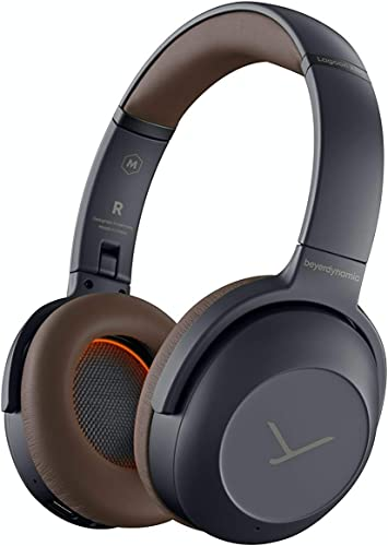 beyerdynamic Lagoon ANC Explorer Bluetooth Headphones with ANC and Sound Personalization Grey Brown