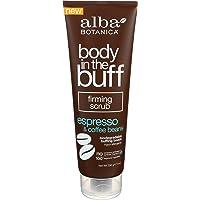 Alba Botanica Body In The Buff Scrub, Firming Espresso and Coffee Beans, 9 Ounce