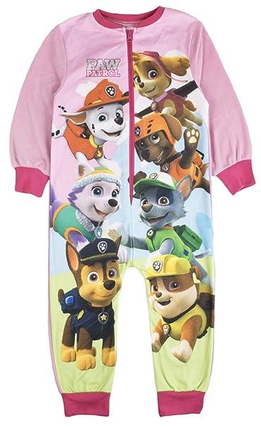 Pijama de forro polar para niñas con el personaje Onesie, talla de 1