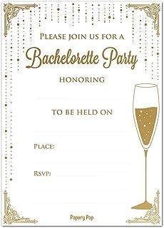 amazon com bachelorette party invitations with envelopes 15 count