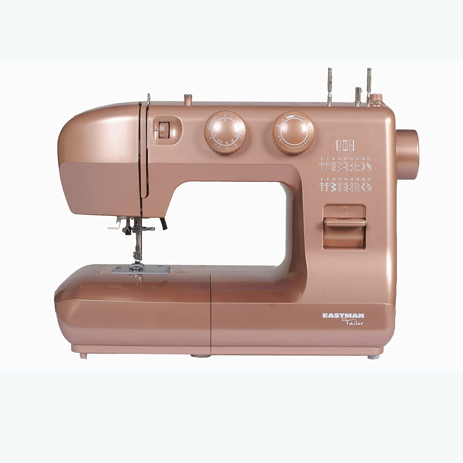 Eastman Tailor 22 Stitch Rose Gold Sewing Machine
