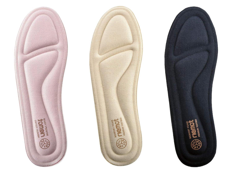 Women/'s Memory Foam Insoles Comfort Replacement Shoe Inserts Navy US 7