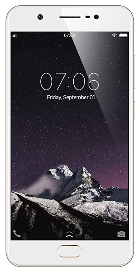 Vivo Y69 (Champagne Gold) with Offers Smartphones at amazon
