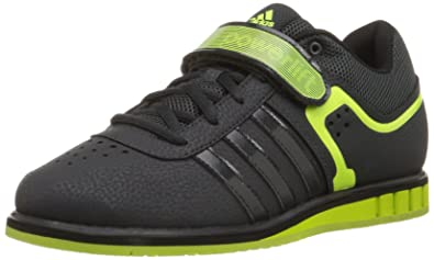 d36dcd0bc717 adidas Performance Men s Powerlift.2 Trainer Shoe Dark Grey Solar  Yellow Black 8.5 D(M) US  Buy Online at Low Prices in India - Amazon.in