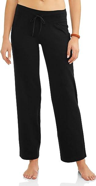 Amazon.com: Athletic Works Pantalones de yoga para mujer, de ...