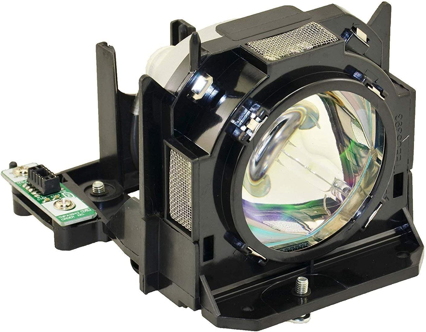 OEM Bulb ET-LAD60 ET-LAD60A Genuine Original Replacement Lamp with Housing for Panasonic PT-D6710 PT-DZ6710 PT-DZ6710E PT-DZ6710EL PT-DZ6710L PT-DZ6710U PT-DZ6710UL Projector