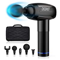 Deals on Cksohot Massage Gun w/6 Massage Heads & Carrying Case
