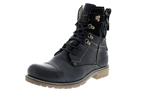 yellow cab Boots Solution B18022W Black 8634786fbd4
