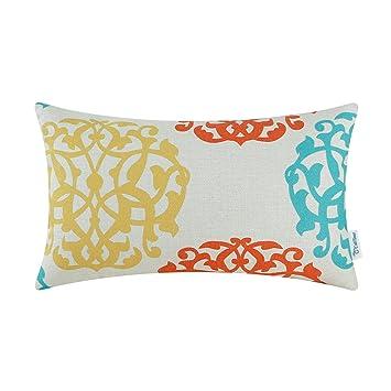 Amazon.com: CaliTime - Funda de cojín de lona para sofá ...