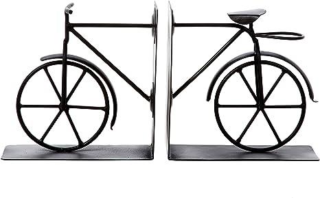 bronce fasmov estilo Vintage para bicicleta sujetalibros Art soporte para libros