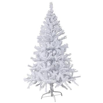 Kunststoff Weihnachtsbaum.150 Cm Hoher Christbaum In Weiss Weihnachtsbaum Tannenbaum Kunststoff 150 Cm Hoch Mit Stander