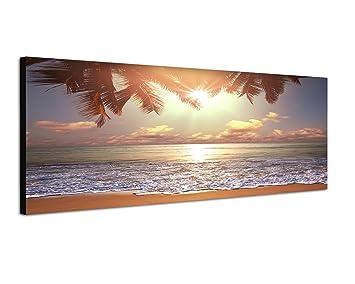Moderne Wandbilder amazon de 120x40cm bild auf leinwand und keilrahmen fertig zum