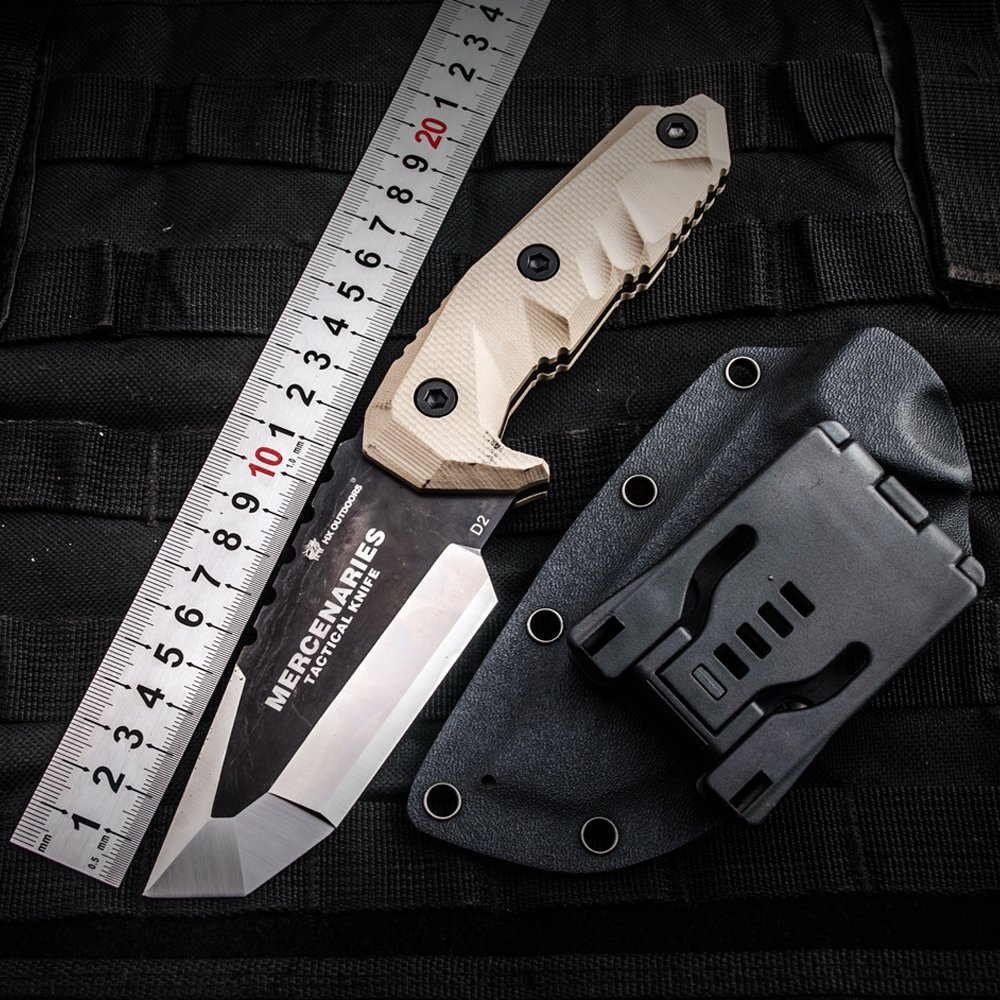 MERCENARIES Special forces tactical knife outdoor hunting camping Army Knives military tactical knife Fixed Blade