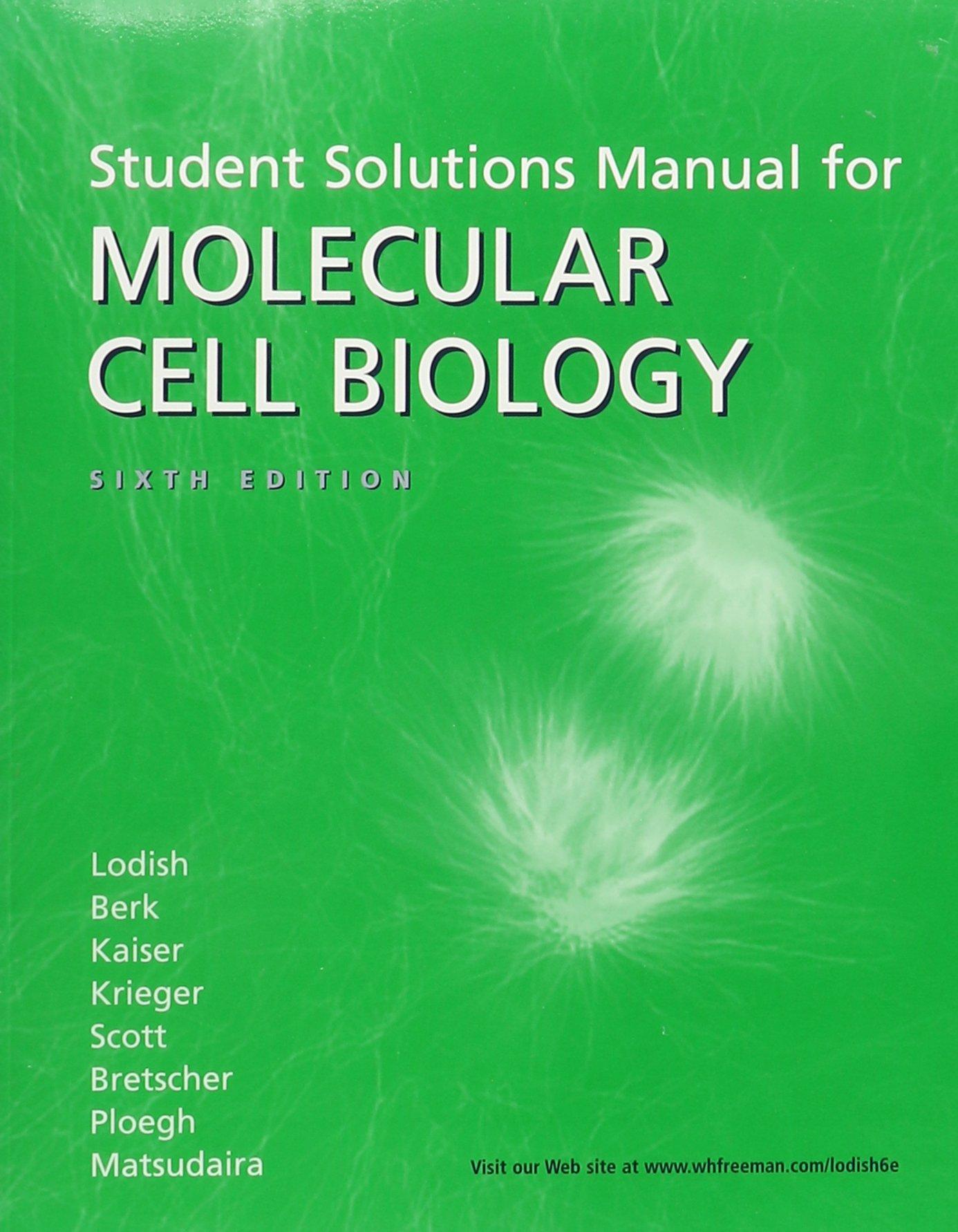 Molecular Cell Biology & Solutions Manual - Livros na Amazon Brasil-  9781429214834
