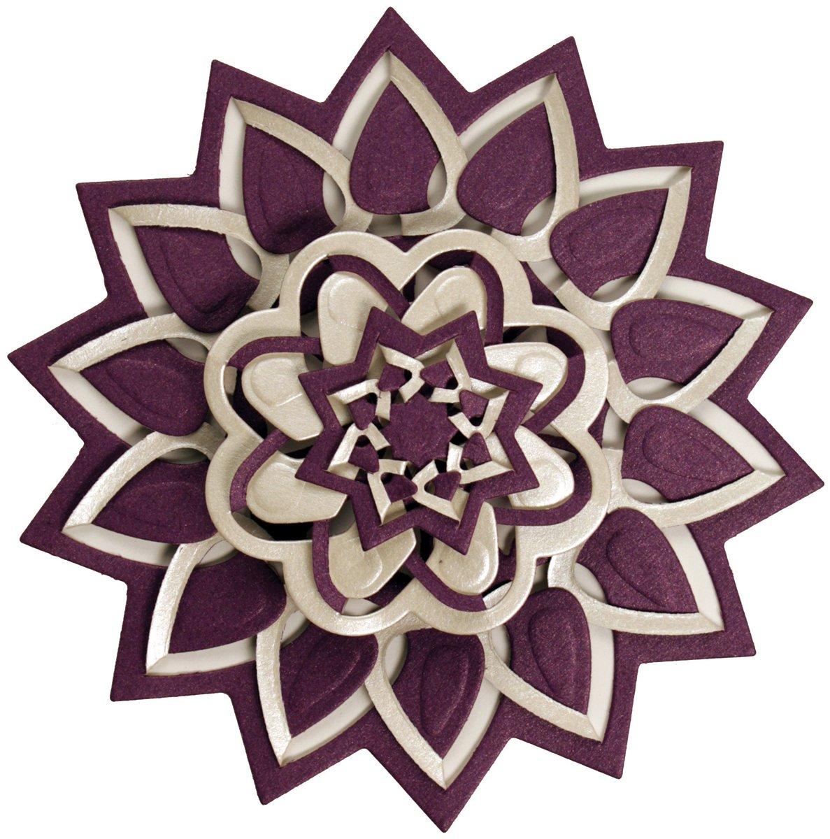 amazon com spellbinders s5 113 shapeabilities flower burst die