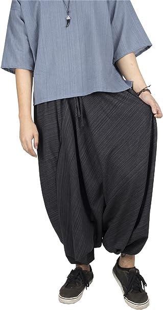 LOFBAZ Yoga Harem Pants for Men Women Unisex Boho Hippie Baggy Clothing Joggers