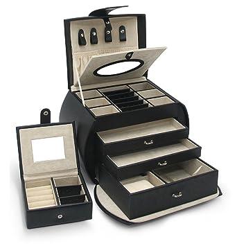 Amazoncom Morelle Diana Leather Purse Jewelry Box with Takeaway
