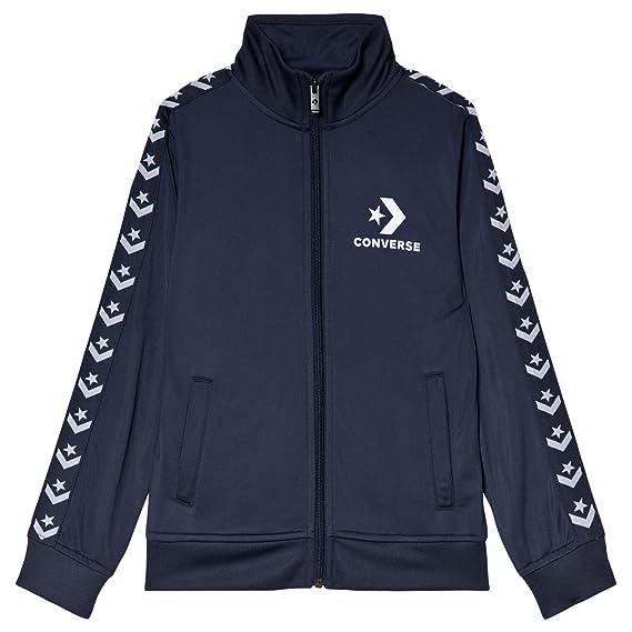 Converse Boys Tricot Taping Track Jacket  Amazon.co.uk  Clothing b22f77f9c