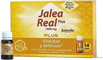 Oferta amazon: JUANOLA Jalea Plus, Complemento alimenticio con jalea real fresca, 14 Viales