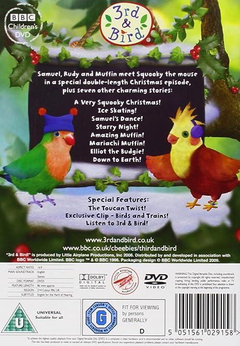 3rd & Bird - A Very Squooky Christmas! [DVD]: Amazon co uk: DVD