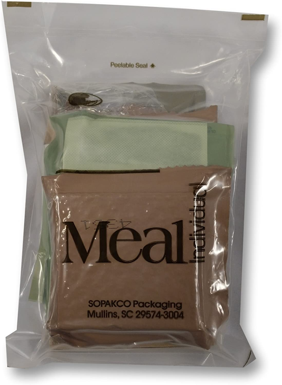 Sure Pak MRE - Kit Completo de Comida con Calentador, Comida Individual (el Curso Principal Puede Variar): Amazon.es: Deportes y aire libre