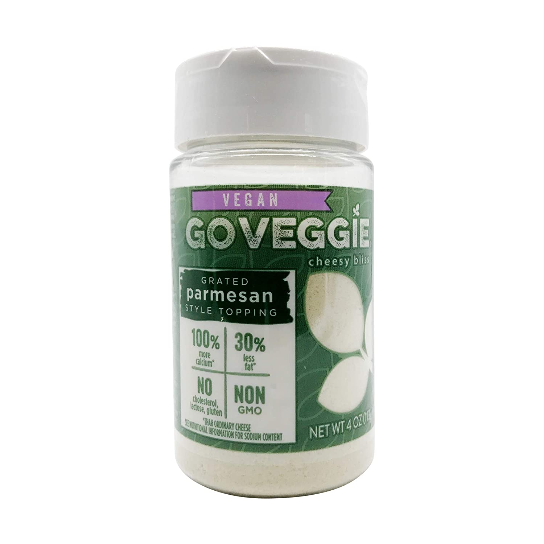 GO Veggie! Dairy-Free Parmesan – Grated Topping – Vegan – 4 oz