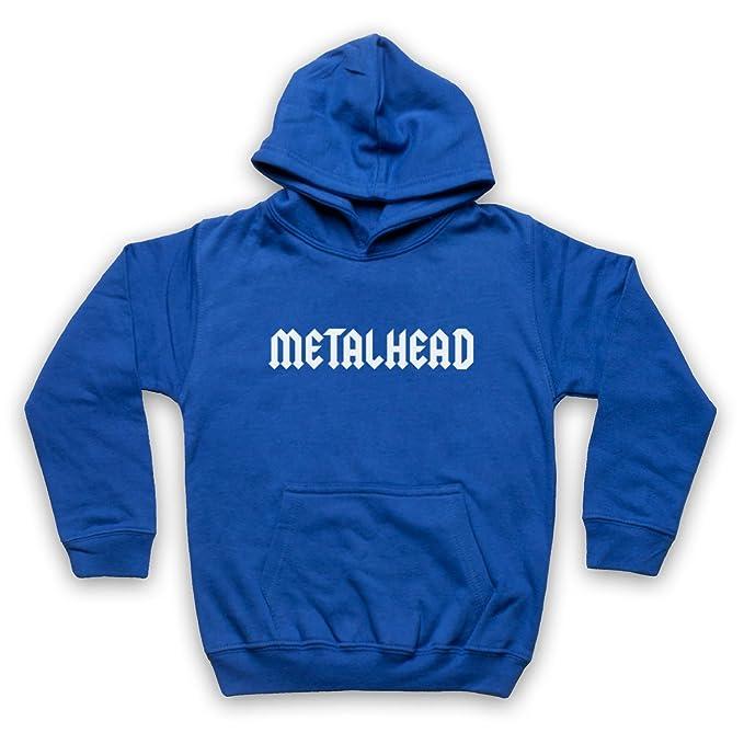 My Icon Art & Clothing Metalhead Heavy Metal Niños Sudadera con Capucha: Amazon.es: Ropa y accesorios