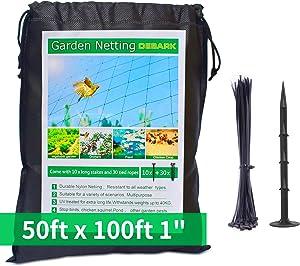 Bird Netting [Heavy Duty] 50' x 100' with 1