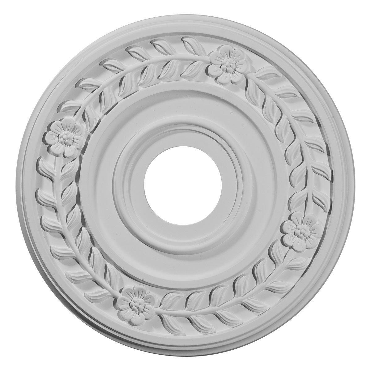 Ekena Millwork CM16WR 16 1/4-Inch OD x 3 5/8-Inch ID x 1-Inch Wreath Ceiling Medallion