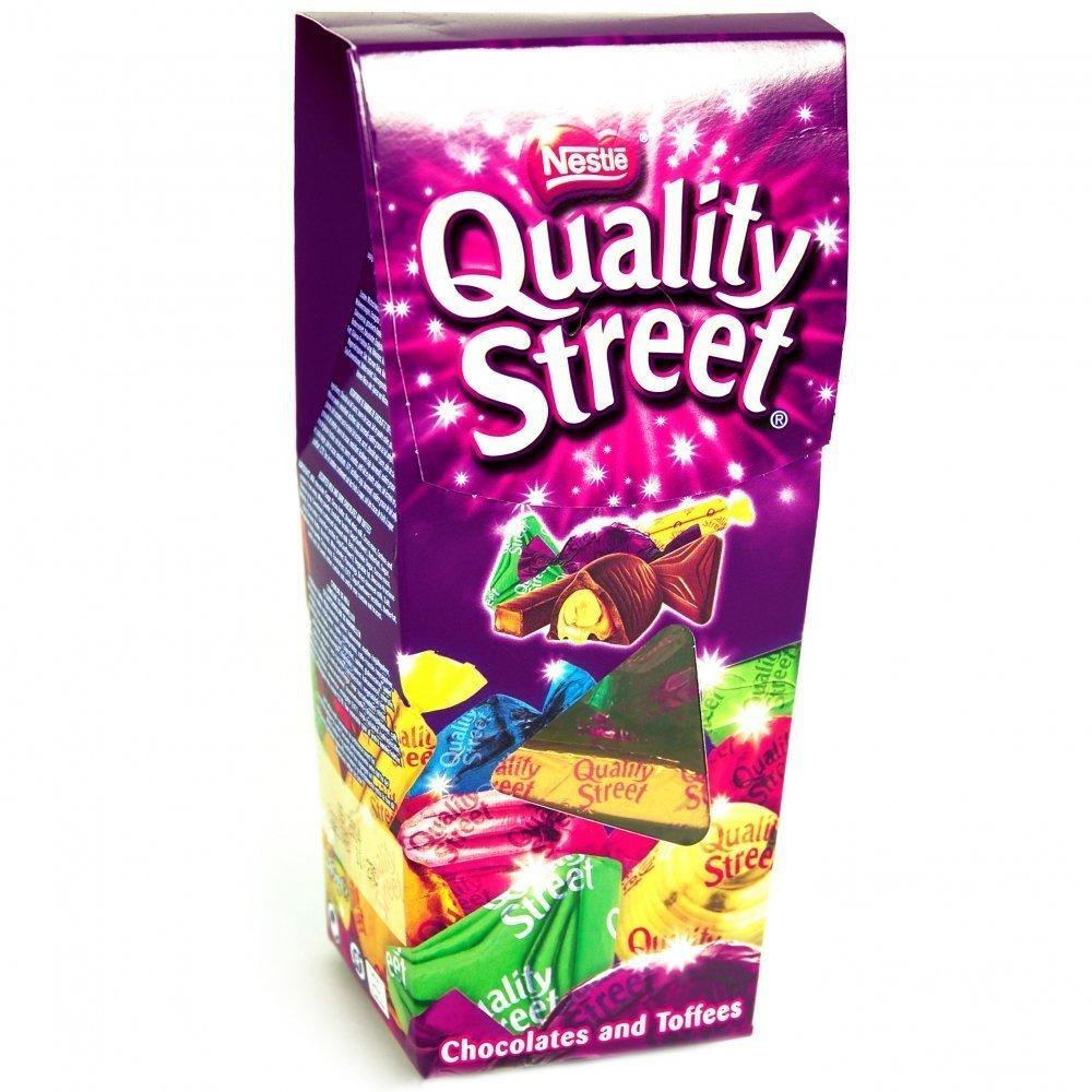 Amazon.com : Nestle Quality Street Chocolates and Toffees 265g ...