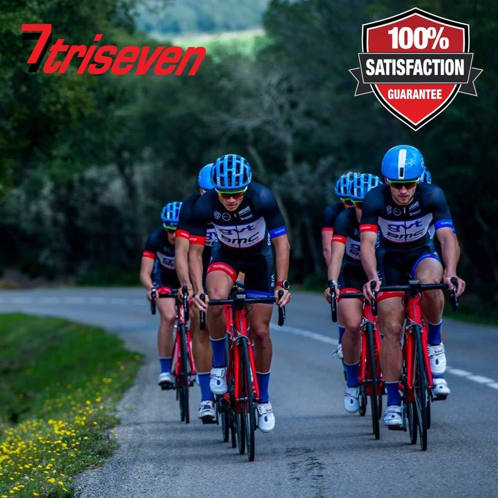 TriSeven Carbon Aero Bag 10Cycling Frame BagLong Distance Triathlon BagMTB Bag0,4L CapacityTop Tube BagBike Accessories6 Gels Pump Wallet4 Straps or 2 Bolts100% (RED)