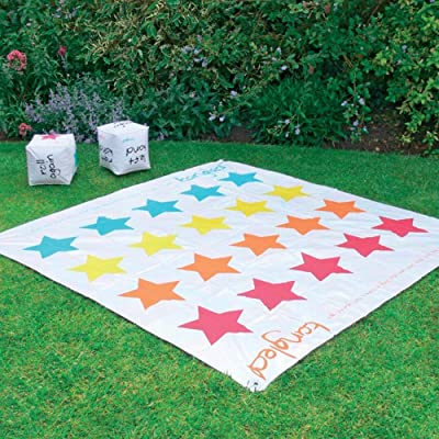 2 In 1 Giant Snakes and Ladders / Tangled Twister Outdoor Garden Game by Parkland: Juguetes y juegos
