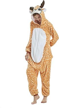 Yuson Girl Pijamas de Unicornio Pijamas de UnaPieza Adulto ...