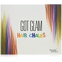 Got Glam Hair Chalks Set For Children & Teens - 24 Temporary Hair Chalks For Instant, Non-Permanent Colour: Perfect for Summer Festival Hair, Halloween Dress-Up, Parties and Occasions