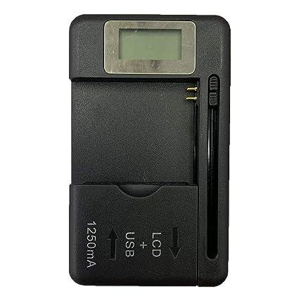 Lorenlli Pantalla de indicador LCD para Cargador de batería ...