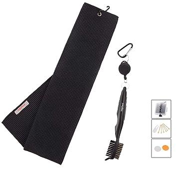Amazon.com: Hhaphealgolf - Toalla de golf de microfibra con ...