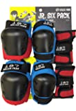 187 Killer Pads Junior Six Pack (Red/Blue)