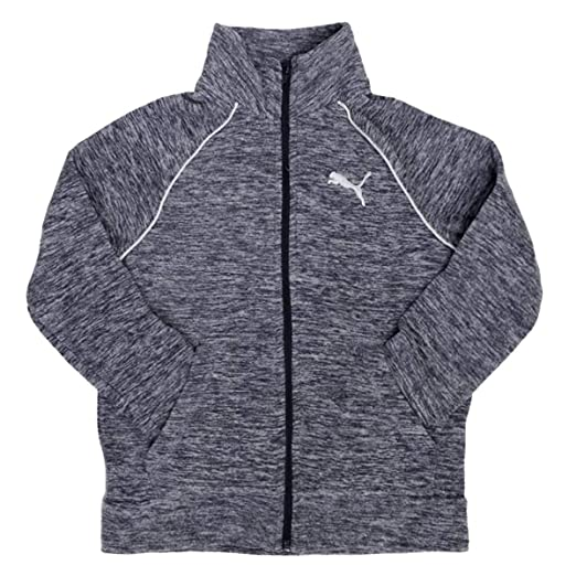 ad97e7bff293 Amazon.com  PUMA Girls  Full Zip Fleece Jacket  Sports   Outdoors