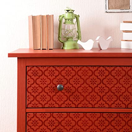 225 & Amazon.com: Myriam Furniture Stencil - Moroccan Decor - DIY ...