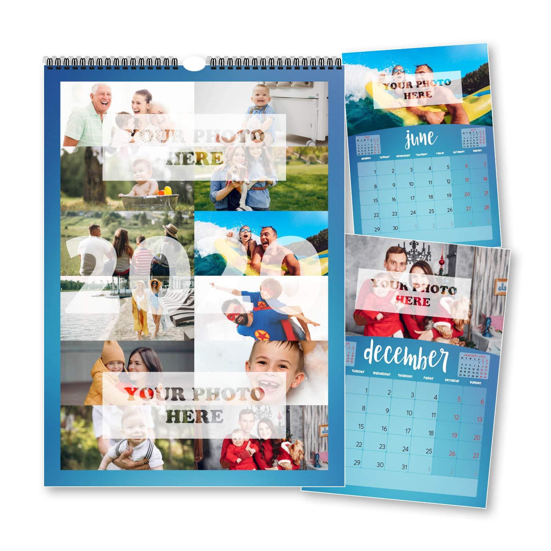 Calendario 2020 personalizado 12 fotografías una foto cada mes ...