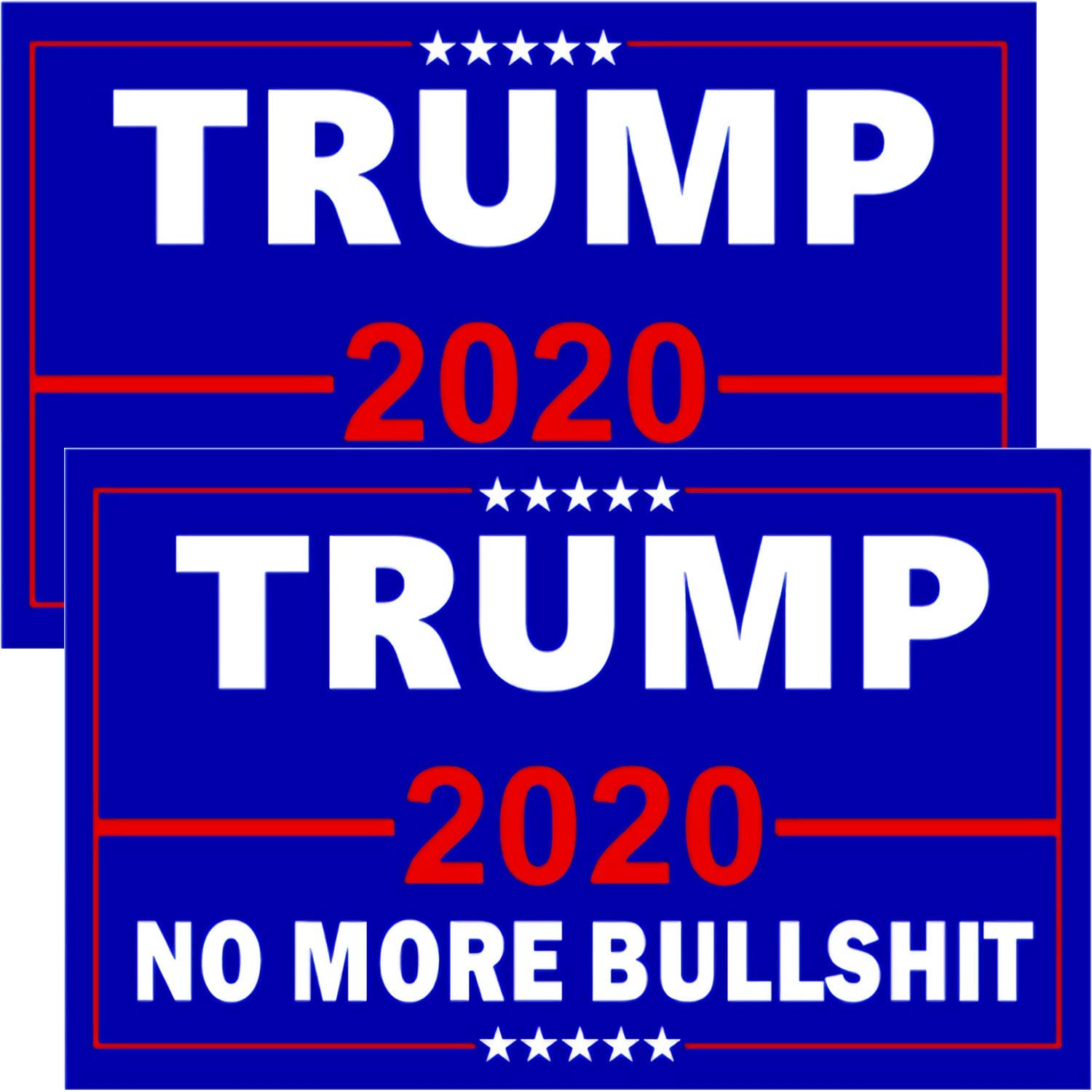 Top Spring Trump 2020 Flags, 2Pcs President Donald Trump Flags 3x5 Outdoor Double Sided Confederate Flag,Vivid Color&UV Fade Resistant with Grommets Double Stitched for Front Yard,Garden&Outdoor Use