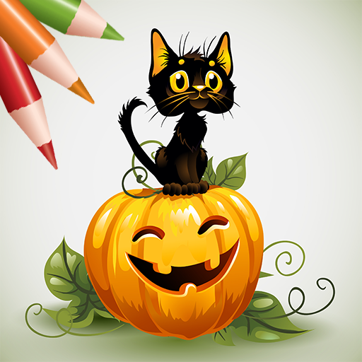 Coloring Book: Halloween!