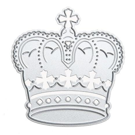 winnereco troqueles de corte de corona diseño de metal molde para DIY álbum de recortes Tarjeta